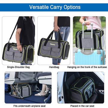 meilleur sac de transport pour chien en avion