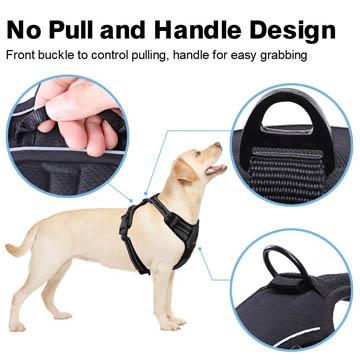 meilleurs harnais anti-traction pour chien